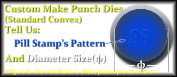 Custom make punch dies